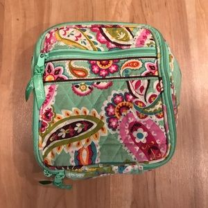 Vera Bradley Lunch Box Pink Green